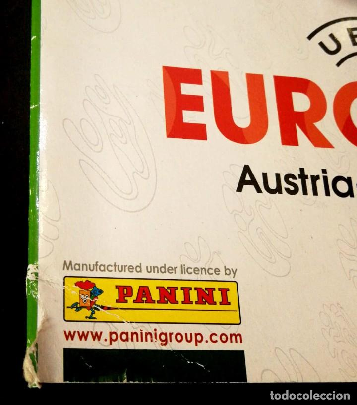 Coleccionismo Álbumes: Album UEFA Euro Austria Suiza 2008 PANINI - Sticker Album - Switzerland 08 - Esquina MAL - Foto 2 - 230956710
