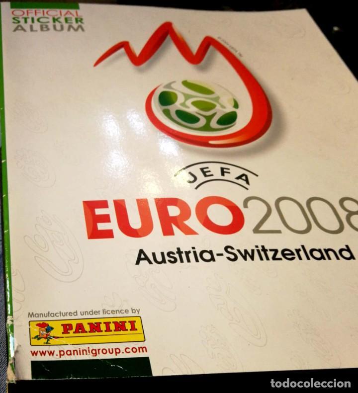 Coleccionismo Álbumes: Album UEFA Euro Austria Suiza 2008 PANINI - Sticker Album - Switzerland 08 - Esquina MAL - Foto 3 - 230956710