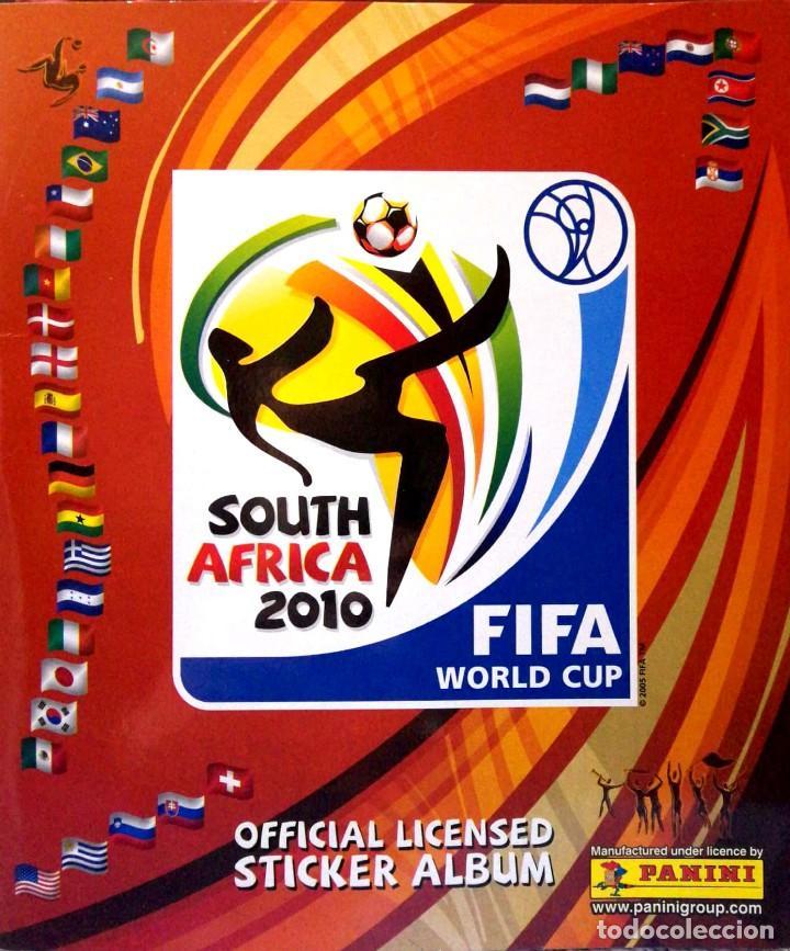 ALBUM FIFA WORLD CUP MUNDIAL SOUTH AFRICA 2010 PANINI - STICKER ALBUM - SUDAFRICA 10 (Coleccionismo - Cromos y Álbumes - Álbumes Incompletos)