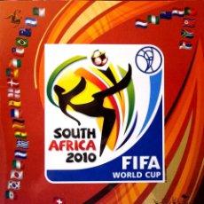 Coleccionismo Álbumes: ALBUM FIFA WORLD CUP MUNDIAL SOUTH AFRICA 2010 PANINI - STICKER ALBUM - SUDAFRICA 10. Lote 230976540
