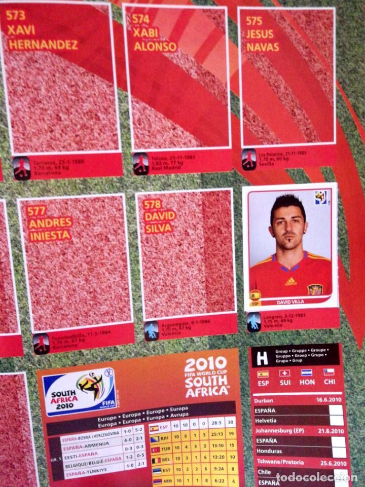 Coleccionismo Álbumes: Album FIFA World Cup Mundial South Africa 2010 PANINI - Sticker Album - Sudafrica 10 - Foto 2 - 230976540