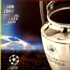 Coleccionismo Álbumes: ALBUM VACIO UEFA CHAMPIONS LEAGUE - 2008 2009 OFFICIAL STICKER ALBUM - PANINI 08 09. Lote 230977005