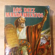 Coleccionismo Álbumes: ALBUM LOS DIEZ MANDAMIENTOS. Lote 231047545