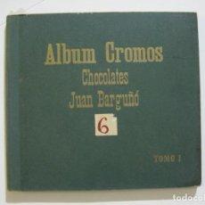 Coleccionismo Álbumes: ALBUM DE CROMOS-CHOCOLATES JUAN BARGUÑO-TOMO 1-VACIO-VER FOTOS-(V-22.419). Lote 231671250