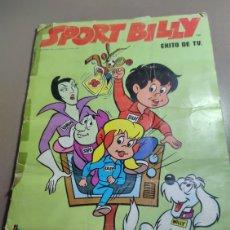 Coleccionismo Álbumes: ALBUM IMCOMPLETO SPORT BILLY / EXITO DE TV DE EDICIONES FHER EN BILBAO 1981 FALTA EL NUMERO 23. Lote 232191915