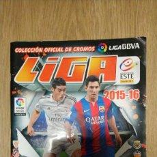 Coleccionismo Álbumes: LIGA 15 16. Lote 232481066