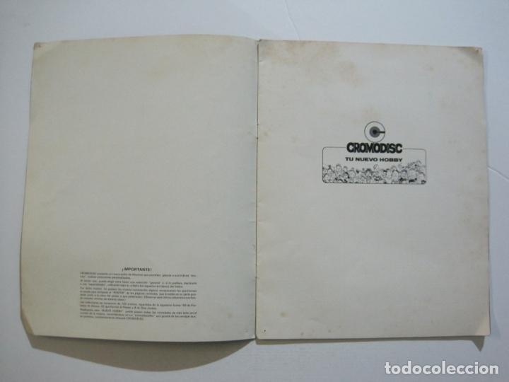 Coleccionismo Álbumes: CROMODISC-ALBUM DE CROMOS VACIO-CROMODISC MUNDIAL-VER FOTOS-(V-22.435) - Foto 4 - 232506730