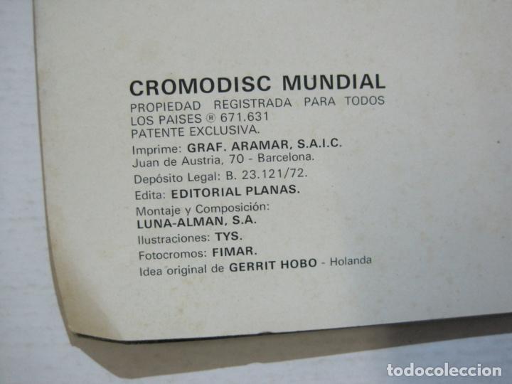 Coleccionismo Álbumes: CROMODISC-ALBUM DE CROMOS VACIO-CROMODISC MUNDIAL-VER FOTOS-(V-22.435) - Foto 16 - 232506730