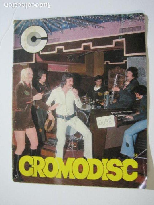 CROMODISC-ALBUM DE CROMOS VACIO-CROMODISC MUNDIAL-VER FOTOS-(V-22.435) (Coleccionismo - Cromos y Álbumes - Álbumes Incompletos)