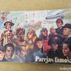 Coleccionismo Álbumes: ALBUM PAREJAS FAMOSAS DE ORTIZ. Lote 232958465