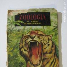 Coleccionismo Álbumes: ZOOLOGIA EL MUNDO DE LOS ANIMALES-ALBUM CASI COMPLETO-EDICIONES FERCA-VER FOTOS-(V-22.442). Lote 233589040