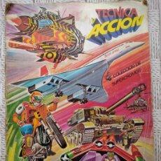 Coleccionismo Álbumes: TÉCNICA Y ACCIÓN. COLECCIÓN DE SUPERCROMOS, 1980. CASI COMPLETO, FALTAN 6 CROMOS.. Lote 234377960