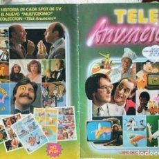 Coleccionismo Álbumes: TELE ANUNCIOS - FALTAN DOS CROMOS. Lote 235325105