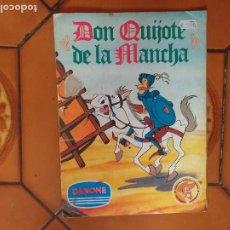 Coleccionismo Álbumes: DON QUIJOTE DE LA MANCHA. ALBUM DE CROMOS. 1978. FALTAN 4 CROMOS DE 90.. Lote 235358690