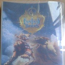 Coleccionismo Álbumes: FANTASY RIDERS - PANINI - - ALBUM ARCHIVADOR VACIO. Lote 235876250