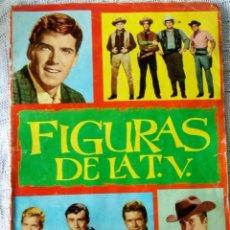 Coleccionismo Álbumes: ÁLBUM FIGURAS DE LA T.V.. Lote 235979425