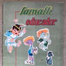 Coleccionismo Álbumes: ÁLBUM SAMALLI EDUCADOR - CHOCOLATES SAMALLI (ALICANTE) - AÑO 1964. Lote 236022560