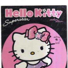 Coleccionismo Álbumes: ALBUM HELLO KITTY SUPERSTAR TIENE 48 CROMOS. Lote 236135880