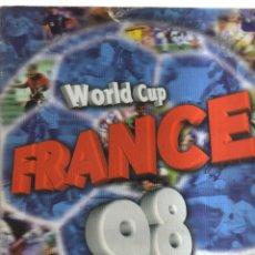 Coleccionismo Álbumes: ALBUM FRANCE 98 WORLD CUP FALTAN 28 CROMOS. Lote 236147745