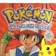 Coleccionismo Álbumes: ALBUM POKEMON CASI COMPLETO. Lote 236150130