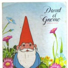 Coleccionismo Álbumes: ALBUM DAVID EL GNOMO DANONE. Lote 236150670