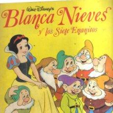 Coleccionismo Álbumes: ALBUM BLANCA NIEVES Y LOS SIETE ENANITOS FALTAN 37 CROMOS. Lote 236158160