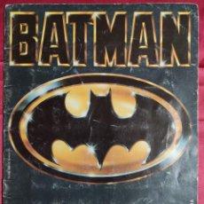Coleccionismo Álbumes: ALBUM DE CROMOS. BATMAN. INCOMPLETO . ASTON. SOLO FALTAN 8 CROMOS. Lote 236158210