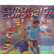 Coleccionismo Álbumes: ALBUM EUROPA EUROPE 96 CON 18 CROMOS. Lote 236159090