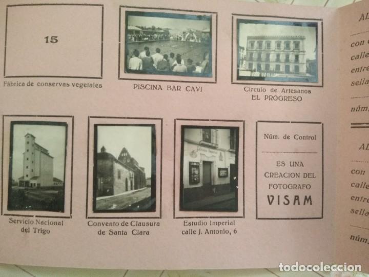 Coleccionismo Álbumes: album CARAMELOS MI CIUDAD montijo pequeñas fotografias tipo postales postal mini ciudad montijo - Foto 5 - 236173415