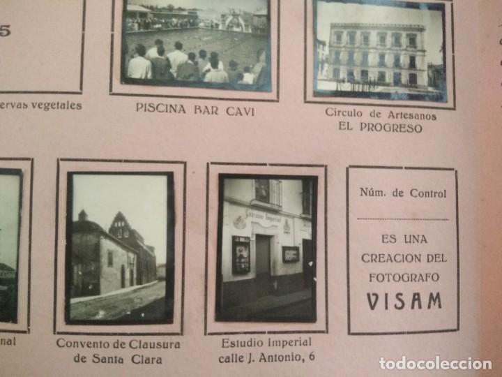Coleccionismo Álbumes: album CARAMELOS MI CIUDAD montijo pequeñas fotografias tipo postales postal mini ciudad montijo - Foto 6 - 236173415