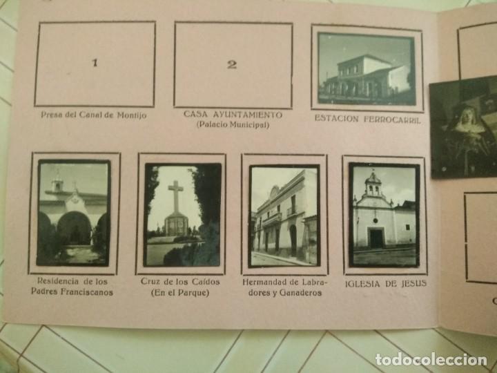 Coleccionismo Álbumes: album CARAMELOS MI CIUDAD montijo pequeñas fotografias tipo postales postal mini ciudad montijo - Foto 8 - 236173415