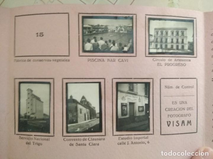 Coleccionismo Álbumes: album CARAMELOS MI CIUDAD montijo pequeñas fotografias tipo postales postal mini ciudad montijo - Foto 10 - 236173415