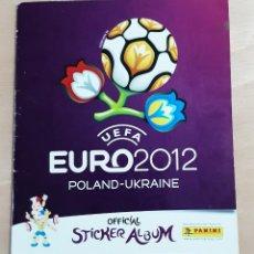 Coleccionismo Álbumes: ALBUM CROMOS FUTBOL PANINI EURO 2012. Lote 236216580