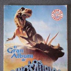 Coleccionismo Álbumes: ALBÚM DE CROMOS EL GRAN ALBÚM DE LOS DINOSAURIOS. Lote 236310040