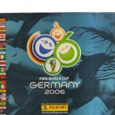 Coleccionismo Álbumes: ALBUM GERMANY 2006 FIFA WORLD CUP FALTAN 92 CROMOS. Lote 236362570