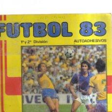 Coleccionismo Álbumes: FUTBOL 83 - 1,Y 2 DIVISION. Lote 236363695