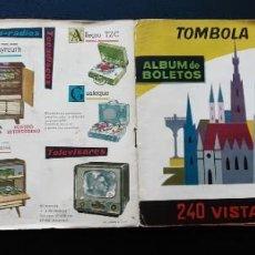 Coleccionismo Álbumes: ÁLBUM TÓMBOLA VALENCIANA VISTAS DE AUSTRIA, CON 213 CROMOS, FALTAN 27 DE 240. Lote 236509765