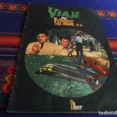 Coleccionismo Álbumes: VIAJE AL FONDO DEL MAR T.V. TV INCOMPLETO CON 35 DE 125 CROMOS. FHER 1966. RARO.. Lote 236521980