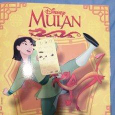 Coleccionismo Álbumes: DISNEY MULAN. Lote 236522225