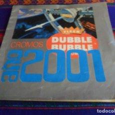 Coleccionismo Álbumes: CROMOS CHICLE AÑO 2001 UNA ODISEA DEL ESPACIO INCOMPLETO. FLEER DUBBLE BUBBLE GUM. 1969. RARO.. Lote 236523350