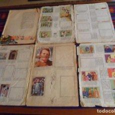 Coleccionismo Álbumes: SALDOS EL CID HOMBRE ENMASCARADO MARISOL RUMBO RÍO ALEGRES HISTORIETAS TV 101 DÁLMATAS VUELTA MUNDO. Lote 236525250