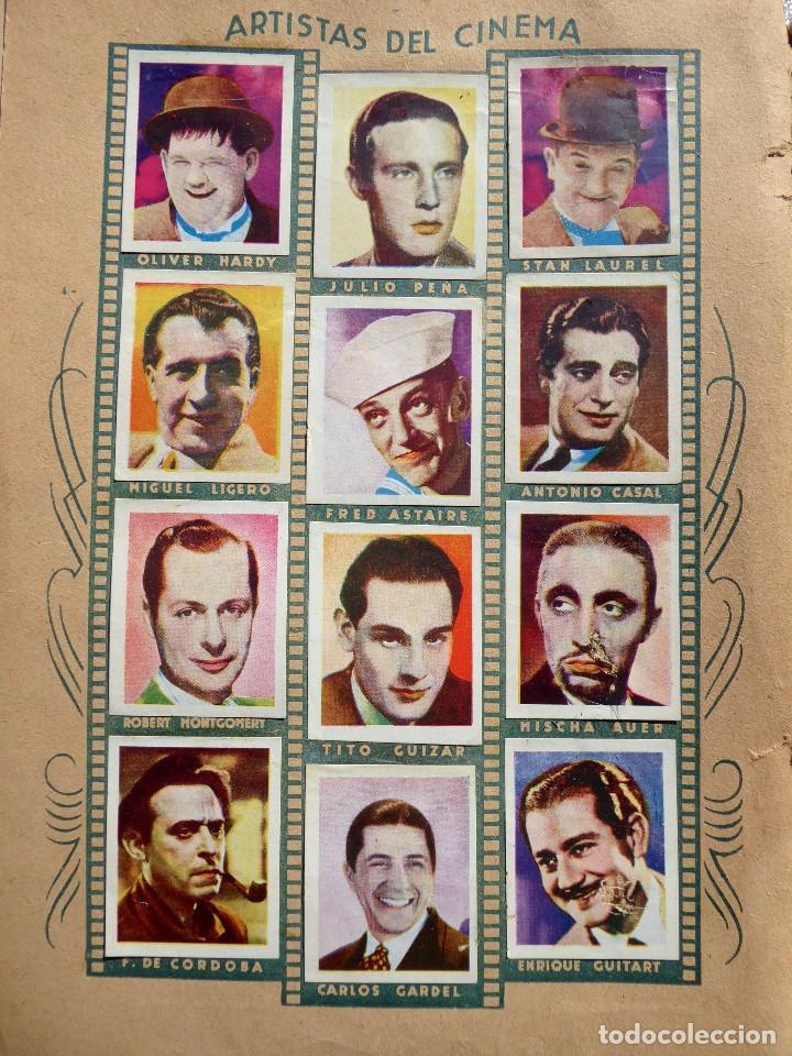 Coleccionismo Álbumes: ALB-86. FOTO-PELÍCULA. ARCHIVO FOTOGRÁFICO ARTISTAS CINE AÑOS 40. 360 FOTOS. FALTAN 18. COLOREADAS - Foto 4 - 236557395