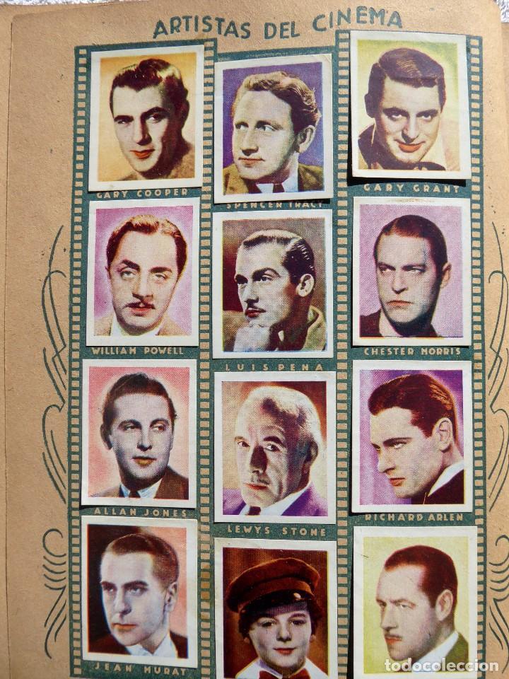 Coleccionismo Álbumes: ALB-86. FOTO-PELÍCULA. ARCHIVO FOTOGRÁFICO ARTISTAS CINE AÑOS 40. 360 FOTOS. FALTAN 18. COLOREADAS - Foto 8 - 236557395