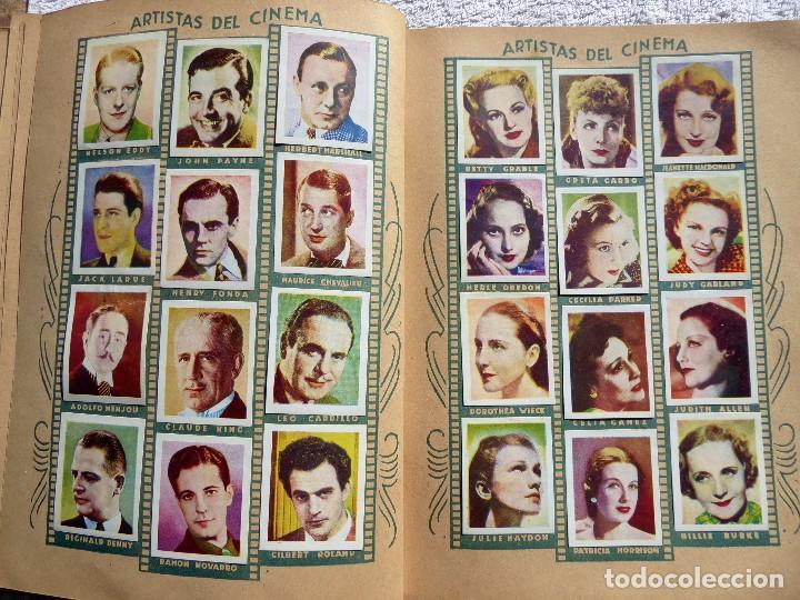 Coleccionismo Álbumes: ALB-86. FOTO-PELÍCULA. ARCHIVO FOTOGRÁFICO ARTISTAS CINE AÑOS 40. 360 FOTOS. FALTAN 18. COLOREADAS - Foto 12 - 236557395