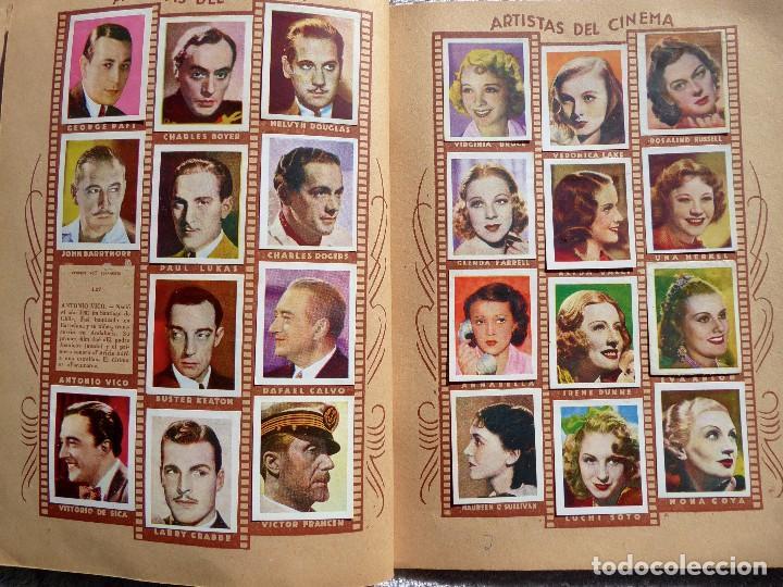 Coleccionismo Álbumes: ALB-86. FOTO-PELÍCULA. ARCHIVO FOTOGRÁFICO ARTISTAS CINE AÑOS 40. 360 FOTOS. FALTAN 18. COLOREADAS - Foto 13 - 236557395