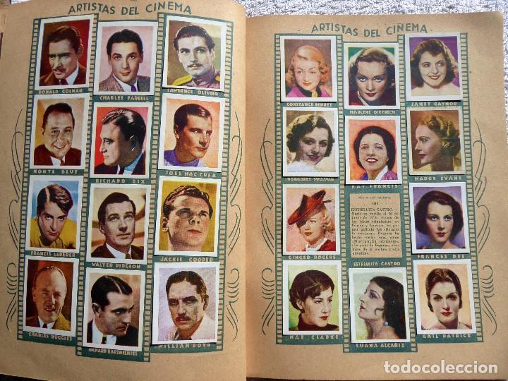 Coleccionismo Álbumes: ALB-86. FOTO-PELÍCULA. ARCHIVO FOTOGRÁFICO ARTISTAS CINE AÑOS 40. 360 FOTOS. FALTAN 18. COLOREADAS - Foto 14 - 236557395