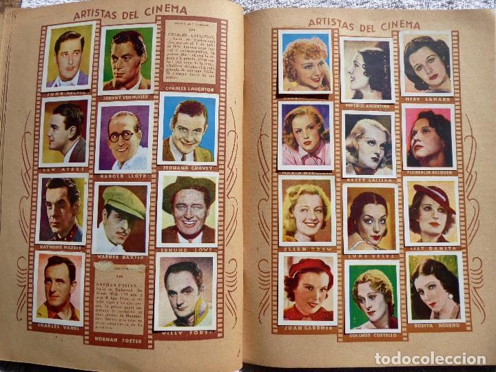 Coleccionismo Álbumes: ALB-86. FOTO-PELÍCULA. ARCHIVO FOTOGRÁFICO ARTISTAS CINE AÑOS 40. 360 FOTOS. FALTAN 18. COLOREADAS - Foto 15 - 236557395