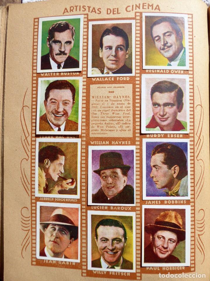 Coleccionismo Álbumes: ALB-86. FOTO-PELÍCULA. ARCHIVO FOTOGRÁFICO ARTISTAS CINE AÑOS 40. 360 FOTOS. FALTAN 18. COLOREADAS - Foto 19 - 236557395