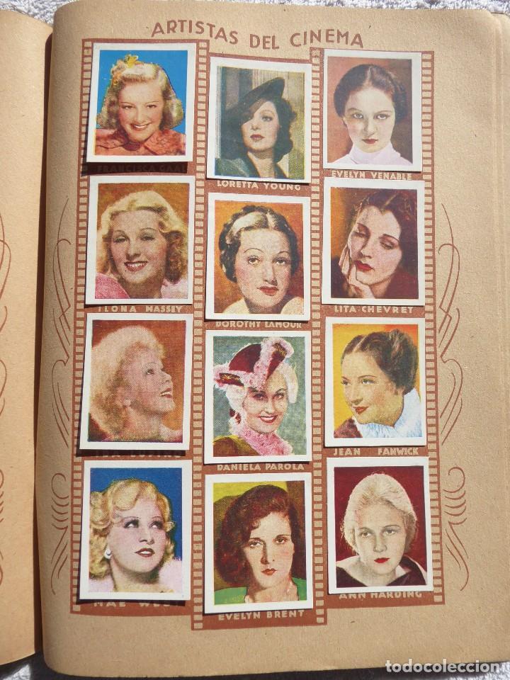 Coleccionismo Álbumes: ALB-86. FOTO-PELÍCULA. ARCHIVO FOTOGRÁFICO ARTISTAS CINE AÑOS 40. 360 FOTOS. FALTAN 18. COLOREADAS - Foto 20 - 236557395