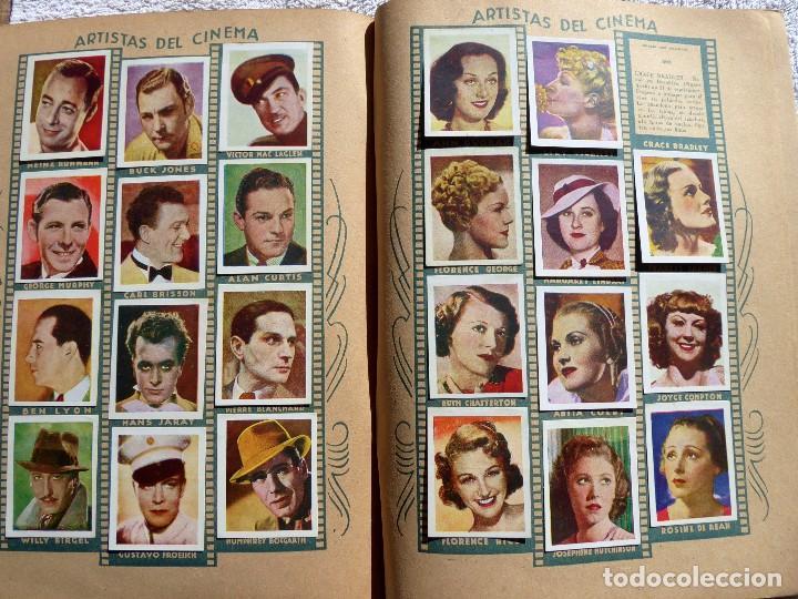 Coleccionismo Álbumes: ALB-86. FOTO-PELÍCULA. ARCHIVO FOTOGRÁFICO ARTISTAS CINE AÑOS 40. 360 FOTOS. FALTAN 18. COLOREADAS - Foto 21 - 236557395